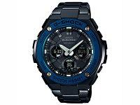 カシオGショックG-SHOCKGスチール電波ソーラーメンズ腕時計GST-W110BD-1A2JF国内正規品