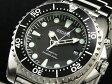 セイコー SEIKO キネティック KINETIC 腕時計 ダイバーズ SKA371P1 ブラック×シルバー メタルベルト
