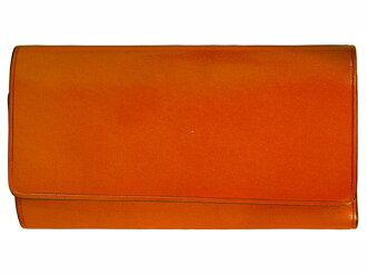 Il Bussetto IRB 設置私密金鑰持有者 4 皮革 7815203 橙色