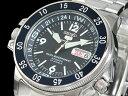 SEIKO 5 SPORTS ダイバーズ 自動巻き 日本製 メンズ 腕時計 アトラス SKZ209J1 ブルー×シルバー メタルベルト