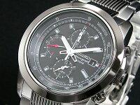 セイコーSEIKOクロノグラフアラーム腕時計SNAB19P1