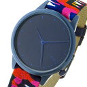 コモノ KOMONO Estelle-Vlisco-Indigo クオーツ レディース 腕時計 KOM-W2852 インディゴブルー