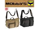 モビーズ MOBBYS B5 31cm ショルダーバッグ メンズ 33...