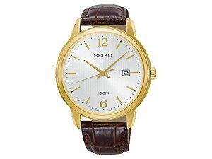 セイコー SEIKO ネオクラシック NEO CLASSIC クオーツ メンズ 腕時計 SUR266P1 革ベルト