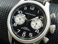 ハミルトンHAMILTONカーキKHAKIコンサベーション自動巻きスイス製腕時計H60416533レザーベルト