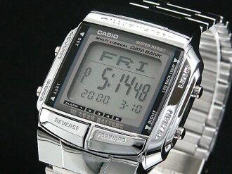 Casio CASIO databank DATA BANK Watch Silver DB360-1 A