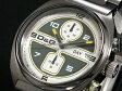 D&G ドルチェ&ガッバーナ ソング クロノグラフ 腕時計 DW0302 メンズ ブラック メタルベルト ホワイト×グリーン
