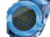 ニクソン NIXON ユニット UNIT デジタル メンズ 腕時計 A197-1726 マーブルブルー ラバーベルト