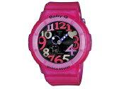 カシオ CASIO ベビーG BABY-G 逆輸入 レディース アナデジ 腕時計 BGA-131-4B4 スケルトン ピンク ラバー