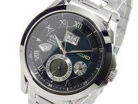 セイコーSEIKOキネティック自動巻きメンズ腕時計SNP059P1
