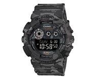 カシオCASIOGショックG-SHOCK海外モデルデジタルカモフラージュメンズ腕時計GD-120CM-8迷彩柄