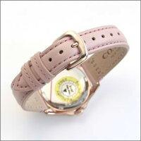 コーチ煌びやかなラインストーンとホワイトシェルダイヤルの輝き。ラグジュアリーなレディス腕時計。14502176