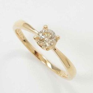 ゴールド ホワイト ライトブラウンダイヤモンド カラット