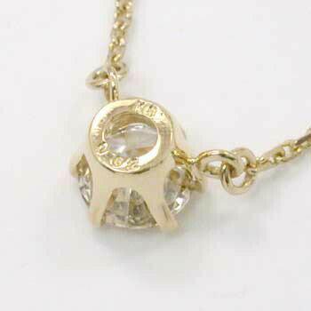 18金ゴールド天然ダイヤプチネックレスtypeAA