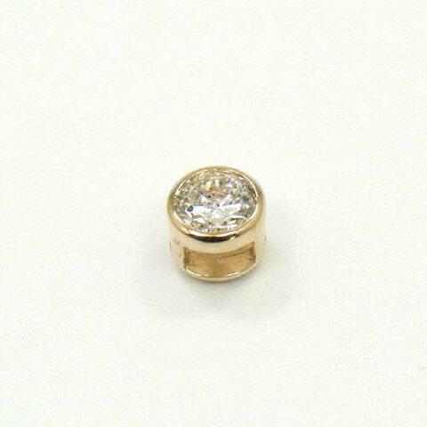 0.35カラット ダイヤモンド(Si2・J)ペンダントヘッド18金ピンクゴールド/18金ゴールド2種類の地金よりお選びいただけます。送料無料
