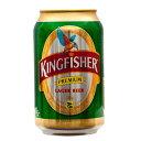 キングフィッシャー プレミアム ラガー 缶 330ml 【ビール】【インドビール】【酒】 お酒は...