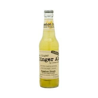 BCGA 百香果鮮姜、 薑黃 355 毫升 × 24 本書 (1 例) 瓶百香果鮮姜汁汽水與黃姜 14,000 日圓或以上