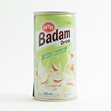 MTR バダムドリンク カルダモン 180ml×12缶 Almond Drink 業務用,通常便,Badam Milk,バダムミルク,ジュース,ドリンク 14000円以上で送料無料, RCP