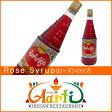 ローズシロップ 800ml Rose Syrup,薔薇,ハーブ,スパイス,香辛料