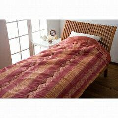 生活雑貨 寝具 掛け布団杉本産商 遠赤わた入ゆったりサイズボア肌布団 150×210cm ピンク...