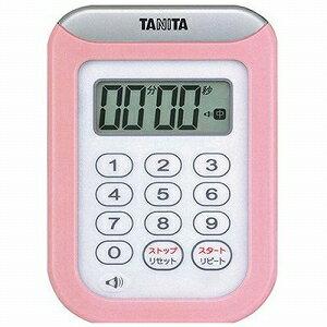 TANITA百利達數字計時器圓洗計時器100分計TD-378-PK粉紅10P03Dec16
