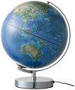 送料無料【衛星画像地球儀】文房具の優良メーカー「レイメイ藤井」小学校の先生と共同開発した「先生オススメ」シリーズ衛星画像地球儀