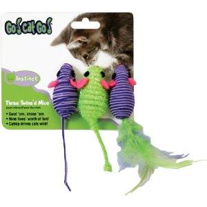 ○スーパーキャット ゴーキャットゴー スリーマウス 3個セット GO-03 (ペット/猫/ネコ/おもちゃ)