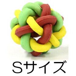 ○ドギーマン マカロニ ラバーボール Sサイズ 超小型犬〜小型犬向け (ペット/犬/おもちゃ)