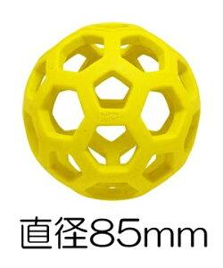 ○プラッツ ホーリーローラーボール ミニ イエロー JW43110/Y (ペット/犬/おもちゃ/ボール/知育)
