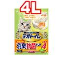 △○ユニチャーム 抗菌デオトイレ 飛び散らない消臭・抗菌サンド 4リットル 1