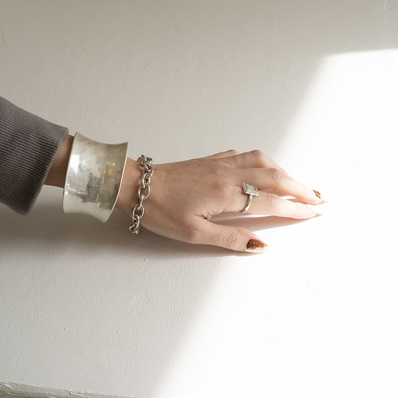 【メール便】 チェーンブレスレット シンプル 女性 大人 アクセ アクセサリー ギフト