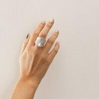 メール便送料無料リング指輪シルバーゴールド重ね付けシンプルアクセサリーレディースヴィンテージ風カーブリング