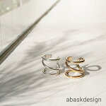 【メール便送料無料】ヘキサゴンオープンリング指輪レディースクロスデザイン重ね付けアクセシンプル女性プレセントギフト大人可愛いおしゃれ