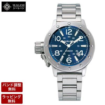 【送料無料】【バンド調整、ラッピング無料SEALANE(シーレーン)腕時計クオーツメンズ腕時計SE56-MBL