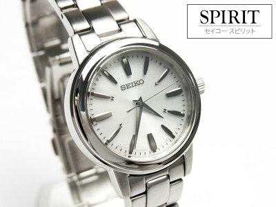 【バンド調整:ラッピング無料】SEIKOセイコーSPIRITスピリットソーラー電波時計ペアモデルレディース腕時計SSDY017