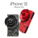 【B品50%セール】iPhone5/5s ケース Tongkeun Pocket Rosegarden (ローズガーデン) アイフォン 手帳型 本革