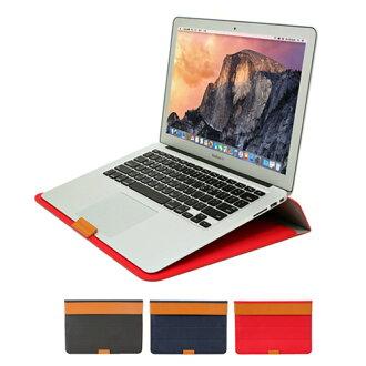 MacBook 13 英寸 (空氣 & Pro 視網膜) 站案例案例 MacBook 空氣 13 MacBook Pro MacBook Pro Retina13 袋皮革皮革豪華黑色紅色海軍黑色紅色海軍