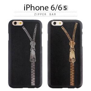 iPhone6s ケース GAZE Zipper Bar(ゲイズ ジッパーバー) 本革 レザー ブラック 黒 金 ゴールド 銀 シルバー チャック スマホケース iPhone6s iPhone6sPlus iPhoneカバー おしゃれ 人気 通販 かわいい 可愛い アイフォン6s アイホン6s<予約>9月29日入荷予定