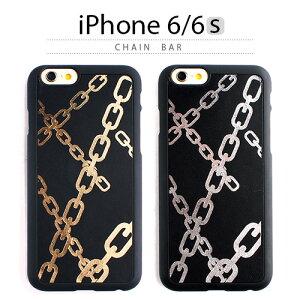 iPhone6s ケース GAZE Chain Bar(ゲイズ チェーンバー) 本革 レザーブラック 黒 金 ゴールド 銀 シルバー チェーン柄 スマホケース iPhone6s iPhone6sPlus iPhoneカバー おしゃれ 人気 通販 かわいい 可愛い アイフォン6s アイホン6s<予約>9月29日入荷予定