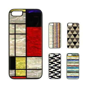 【訳あり アウトレット】iPhone5/5s ケース ikins Natural Pearl Case(アイキンス ナチュラルパールケース) アイフォン 天然貝