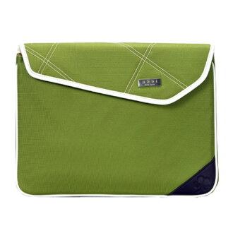 綠色離合器愛琳 (Erin 離合器) 13.3 英寸) B2301GN PC 袋公事包 Abbie 紐約州筆記本電腦包女人的離合器袋綠色可愛時尚手提電腦包
