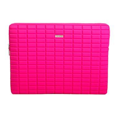 【訳あり アウトレット】abbi MacBook Pro15インチ用 ネオプレンインナーケース ピンク