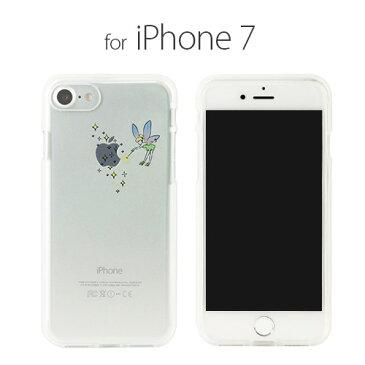 iPhone 8 / 7ケース Dparks ソフトクリアケース ティンカーベル(ディーパークス)アイフォン カバー