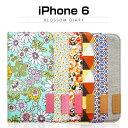 【iPhone6ケース】araree Blossom Diary(ブロッサムダイアリー インディ) ★ 05P01Mar15