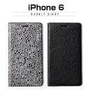 【iPhone6 ケース】 GAZE Bubbly Diary(ゲイズ バブリーダイアリー)レザー,合成皮革,手帳,高級,エナメル,iPhone6 カバー,アイホン6 ケース,iPhone6 4.7インチ カバー
