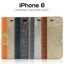 iPhone6s/6 ケース Dreamplus Wannabe Leathrer Diary…