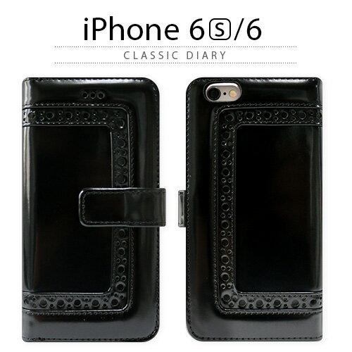 スマートフォン・携帯電話用アクセサリー, ケース・カバー iPhone6s ZENUS Classic Diary Black iPhone 6s 6s