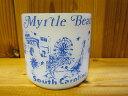 ■フェデラル(Federal)■マグカップ■Myrtle Beach■ホワイト■1960年以降製造