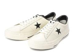 【converse】 コンバース ONE STAR(A) OX ワンスター オックス ABC-MART限定 WHITE/BLACK /ABC...