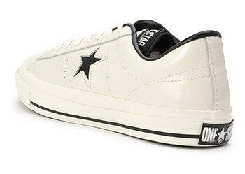 コンバース ONE STAR(A) OX ワンスター オックス ABC-MART限定 WHITE/BLACK